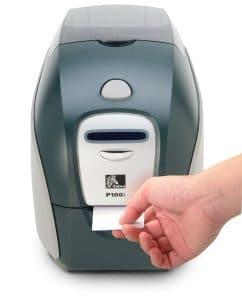 מדפסת כרטיסים P110